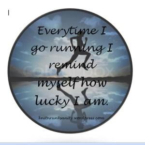 lucky running