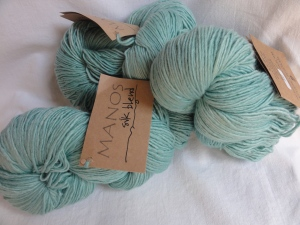 You know a yarn is posh when it comes in hanks, not balls!
