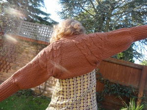 This is it - a shrug called Angel wings.