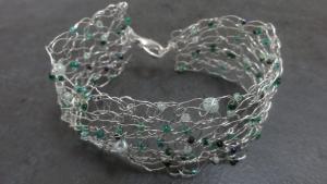 Tunisian Wire Bracelet