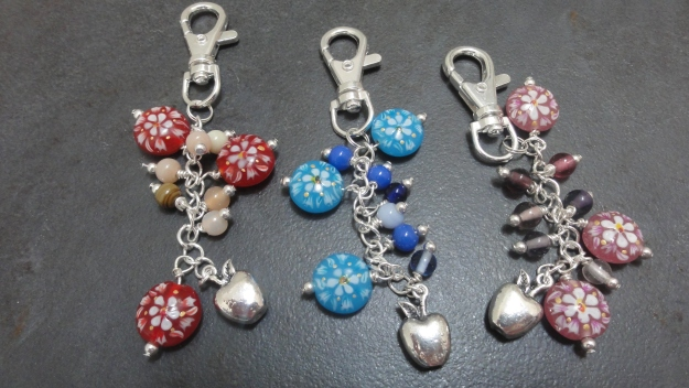 Teacher bag charms