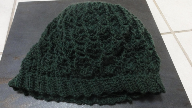 This is the pre-blocked hat.