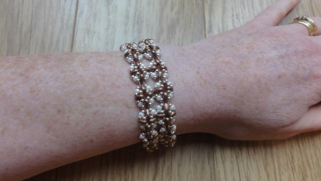 3d twin bracelet