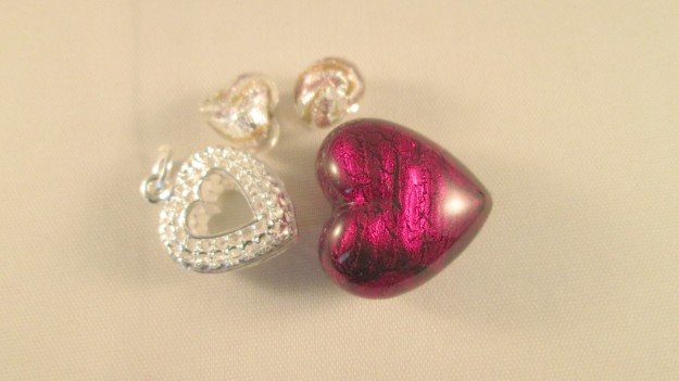 I found these heart shaped beads in Spoilt Rotten beads.
