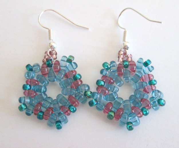 Another turquoise set of earrings :)