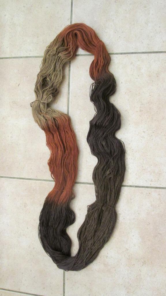 It is Rowan Sock yarn.