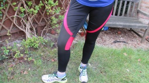 The 'finished' leggings.